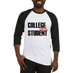 Off Duty College Student Baseball Jersey