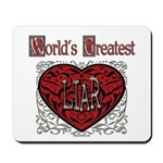World's Best Liar Mousepad