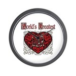 World's Best Liar Wall Clock
