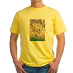 Spring - Corgi (Bl.M) Yellow T-Shirt