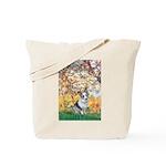 Spring - Corgi (Bl.M) Tote Bag