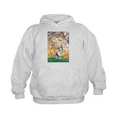 Spring - Corgi (Bl.M) Kids Hoodie