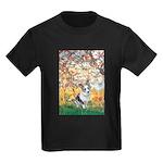 Spring - Corgi (Bl.M) Kids Dark T-Shirt