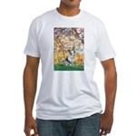 Spring - Corgi (Bl.M) Fitted T-Shirt
