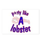 Cute Lobster Postcards (Package of 8)