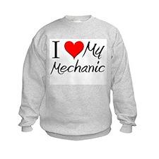 I Heart My Mechanic Sweatshirt