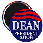 Dean President 2008 (10 magnets)
