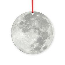 Full Moon Ornament (Round)