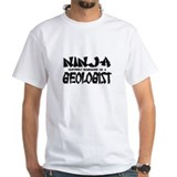 """Ninja cleverly disguised as a Geologist"" Shirt"