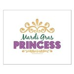 Mardi Gras Princess Small Poster