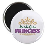 Mardi Gras Princess Magnet