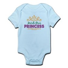 Mardi Gras Princess Infant Bodysuit