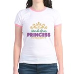 Mardi Gras Princess Jr. Ringer T-Shirt