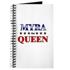 MYRA for queen Journal
