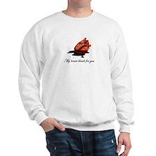 Unique Bleeding heart Sweatshirt