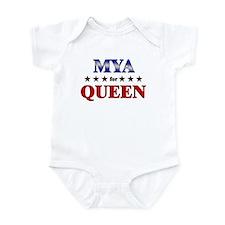 MYA for queen Infant Bodysuit
