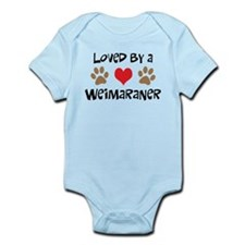 Loved By A Weim... Onesie