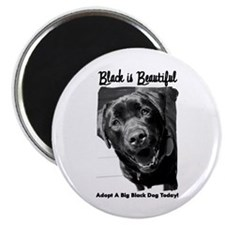 Adopt a Big Black Dog Magnet