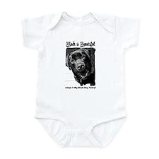 Adopt a Big Black Dog Infant Bodysuit