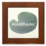 Hosta Trader Framed Tile