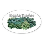 Hosta Trader Oval Sticker