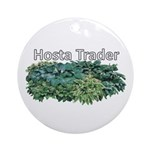 Hosta Trader Ornament (Round)