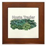 Hosta Trader Framed Tile