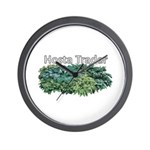 Hosta Trader Wall Clock