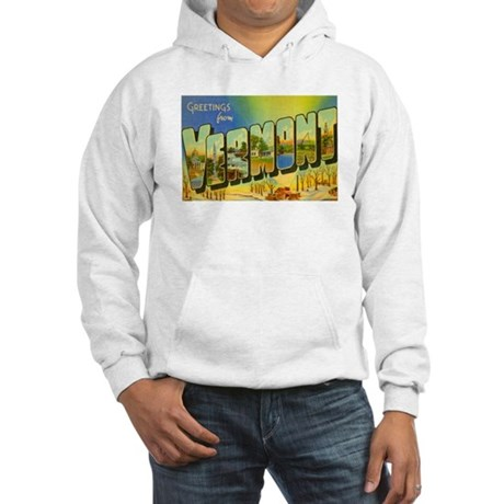 Greetings from Vermont Hooded Sweatshirt