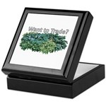 Want to trade hostas? Keepsake Box