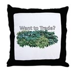 Want to trade hostas? Throw Pillow