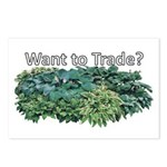 Want to trade hostas? Postcards (Package of 8)