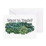 Want to trade hostas? Greeting Card