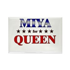MIYA for queen Rectangle Magnet