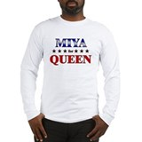 MIYA for queen Long Sleeve T-Shirt
