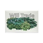 Will trade for hostas Rectangle Magnet (10 pack)