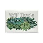 Will trade for hostas Rectangle Magnet (10 pack)