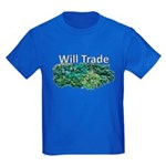 Will trade for hostas Kids Dark T-Shirt