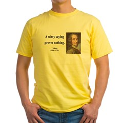 Voltaire 13 Yellow T-Shirt