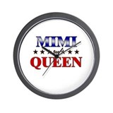 MIMI for queen Wall Clock