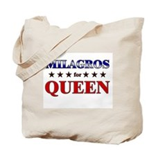 MILAGROS for queen Tote Bag