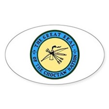 Great Seal of the Choctaw Oval Decal