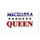 MICHAELA for queen Postcards (Package of 8)