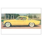 Yellow Studebaker on Large Poster