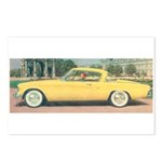 Yellow Studebaker on Postcards (Package of 8)