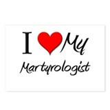 I Heart My Martyrologist Postcards (Package of 8)