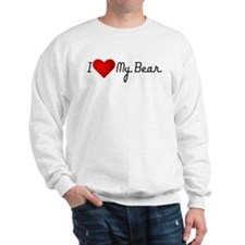I Heart my Bear Sweatshirt