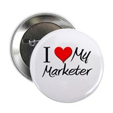"I Heart My Marketer 2.25"" Button"