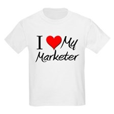 I Heart My Marketer T-Shirt