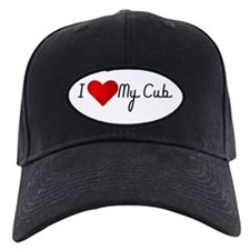 I Heart My Cub Baseball Hat